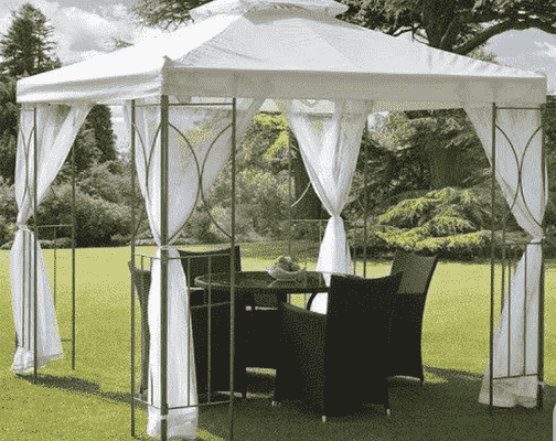keep gazebo from blowing away on concrete