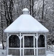 Use gazebo in winter