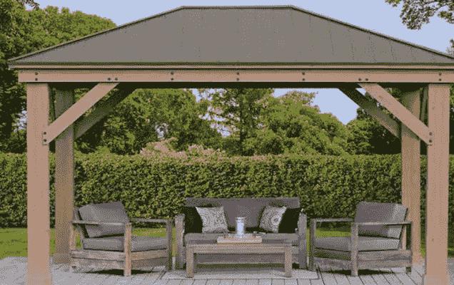 Where can I put a gazebo in my backyard