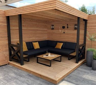 Which is better between a pergola or gazebo