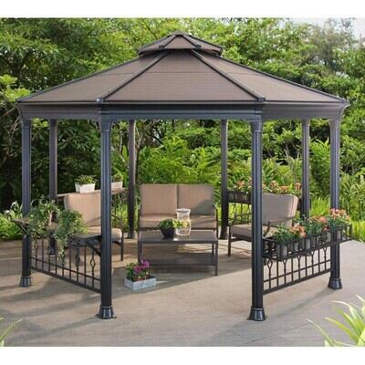 Should a metal gazebo be grounded