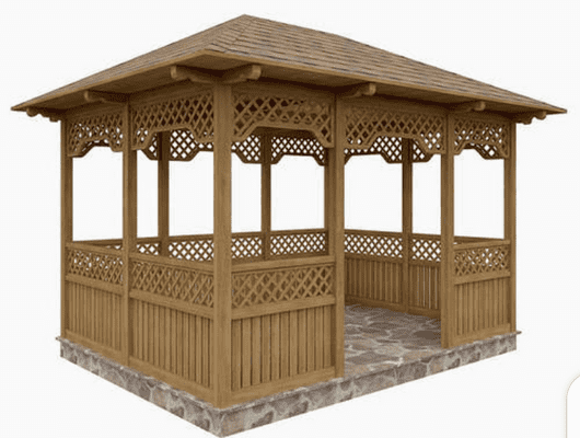 What is considered a gazebo