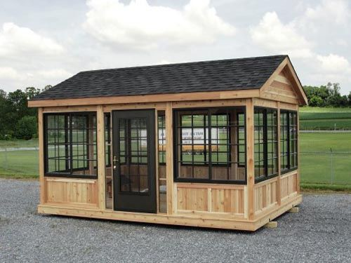 How much does a screened-in gazebo cost