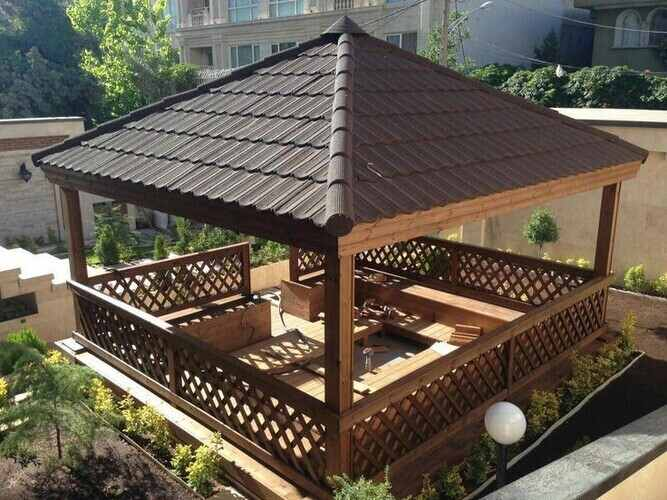 Can a gazebo be left all year