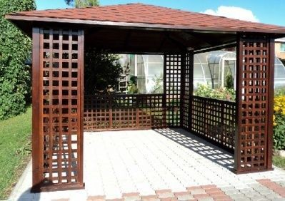 What is the best material I can use for a gazebo