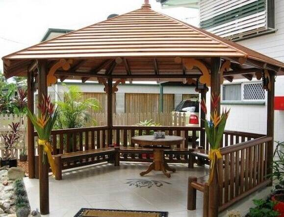 What Material Can I Use For a Gazebo