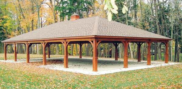 What is the difference Between a Gazebo and a Pavilion
