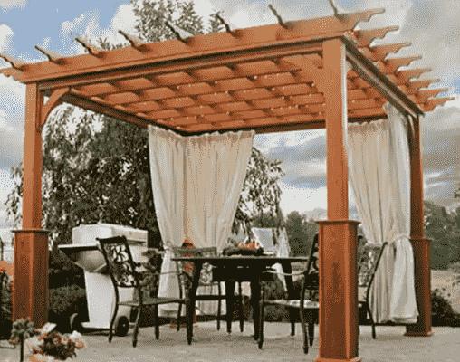 Can I Put a Roof On a Pergola