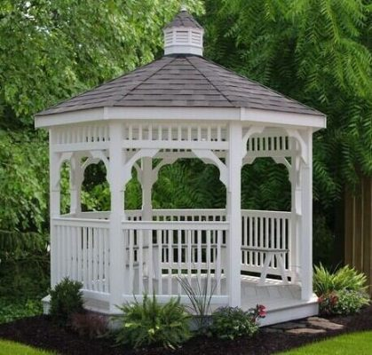 Differences between a gazebo and a pavilion