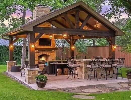 How to decorate your gazebo on a budget